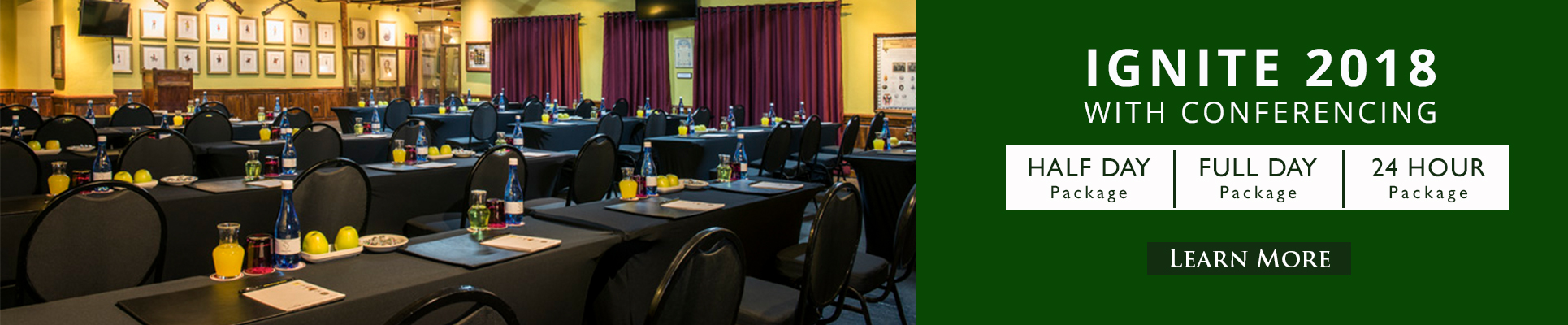 Kedar Heritage Lodge Conference Specials 2018