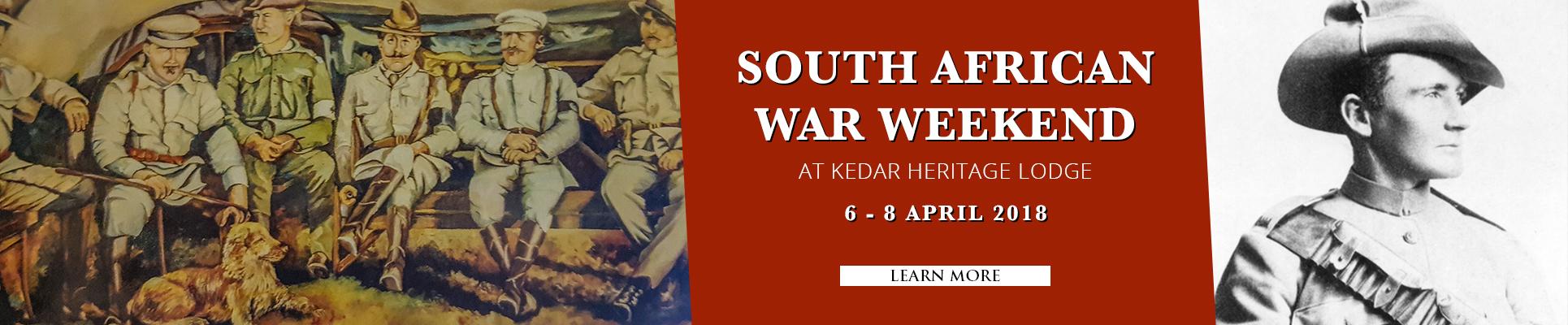 South African War Weekend