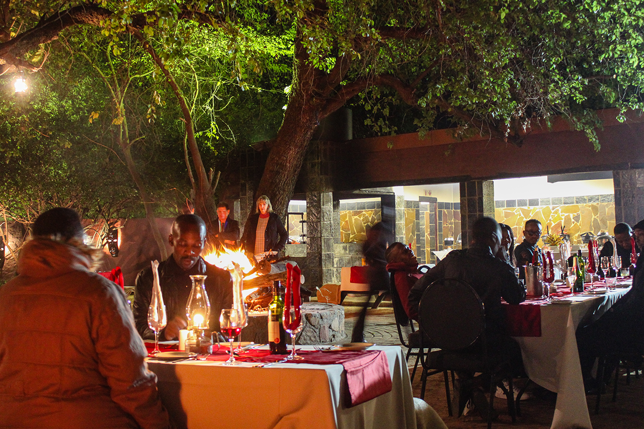 Kedar Heritage Lodge Boma - Rustenburg Restaurants