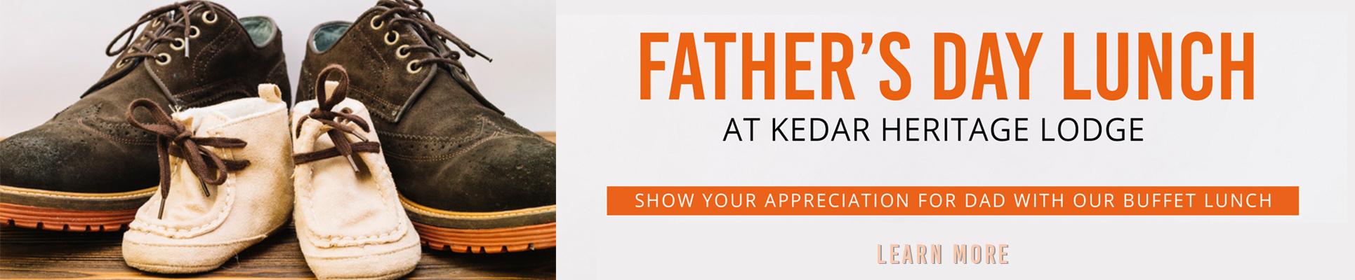 Join us for Father's Day lunch at Kedar Heritage Lodge, Rustenburg