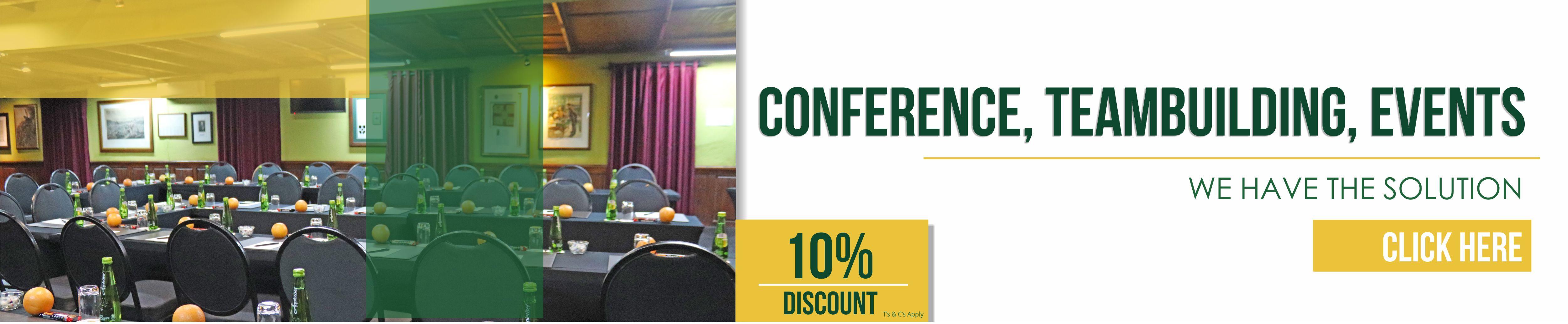 Kedar Lodge Conference Deals May - June 2021